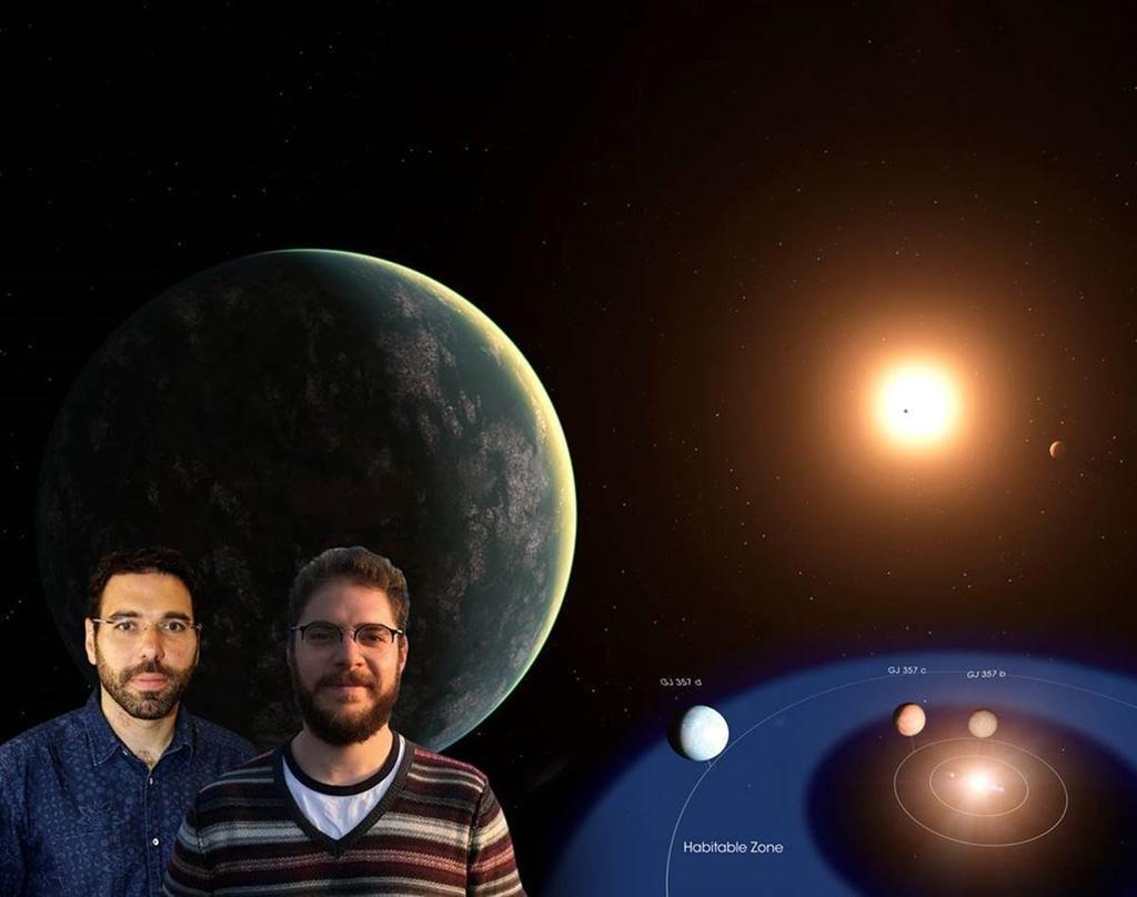 sistema solar vivero El Prieguense Rafael Luque Lidera El Descubrimiento De Un